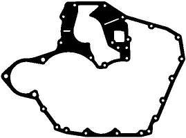Прокладка передньої кришки блока циліндрів MAN D 0834/0836 LFL40/41 (вир-во Elring), 008.891