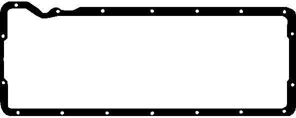 Прокладка піддону МАН D0226, D0826LF, LOH/LUH, D0836LOH (пр-во AJUSA), 14058500