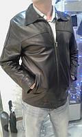 Кожаная куртка на змейке, фото 1