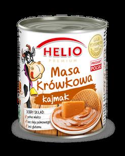 Cгущенное молоко вареное с карамелью без глютена Helio Masa Krowkowa, 400г, Польша
