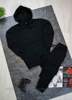Спортивний костюм чорного і білого кольору (люкс копія)
