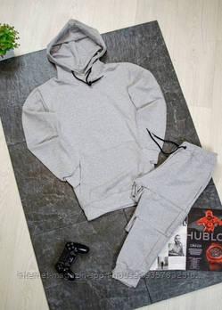 Чоловічий спортивний костюм штани та штани сірого кольору (на будь-який сезон)