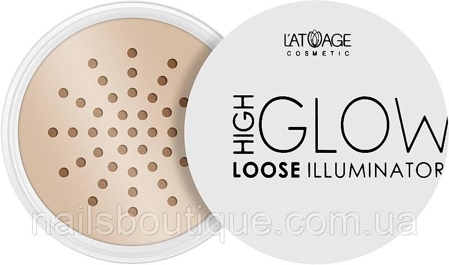 Latuage Cosmetic High Glow Loose Illuminator 803