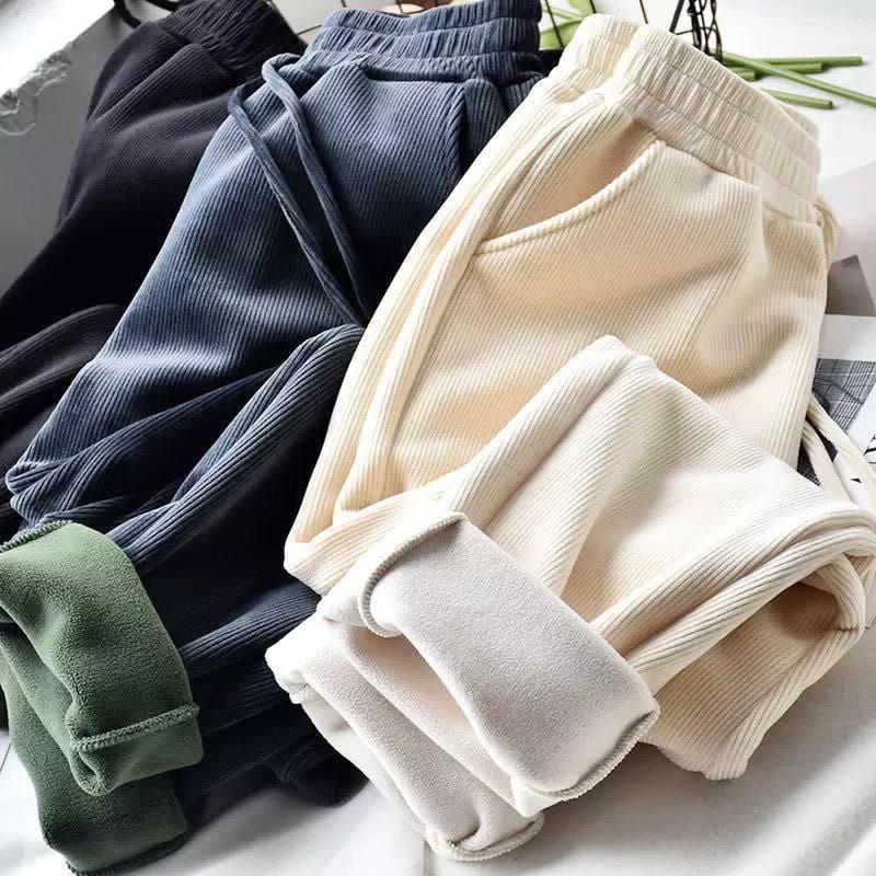 Жіночі штани, вельвет,фліс, р-р 42-44; 46-48; 50-52 (молоко)