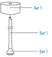 Сервис-набор для фильтра Katadyn Mini Hose Kit, Set 2 запасной шлангпредфильтр