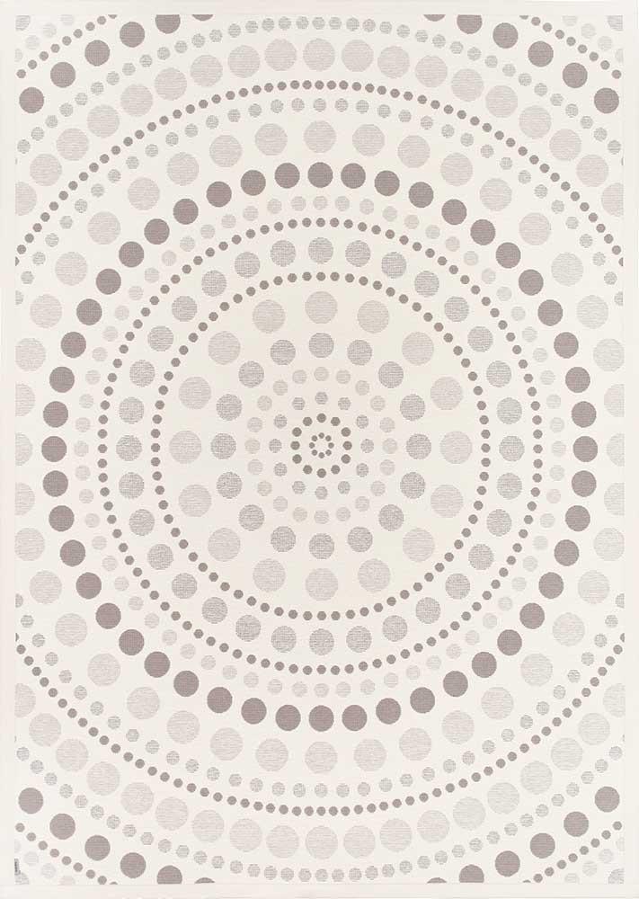Ковер двухсторонний Narma Oola 160х230 см Белый
