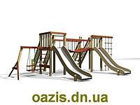 Детская площадка деревянная Мостик, фото 1