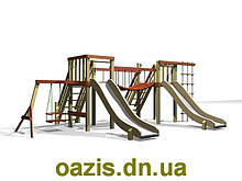 Детская площадка деревянная Мостик