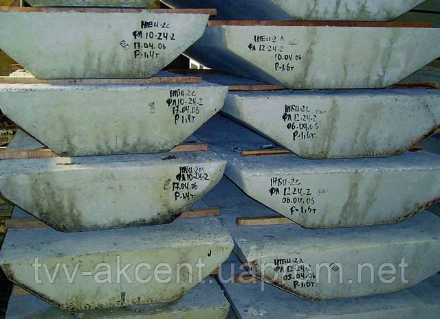 Фундамент ленточный ФЛ10-12