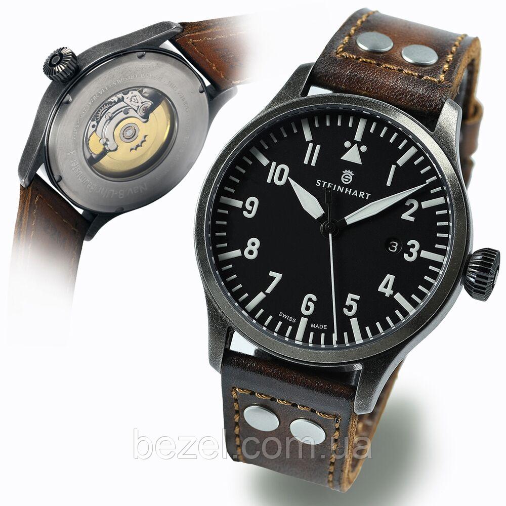 Чоловічі годинники Steinhart Nav B-Uhr 44 Gun Metal A-Type 107-0860
