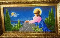 Схема для вышивки Иисус на горе Елеонской