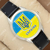 Необычные наручные часы Украина Silver/Black 1053-0101
