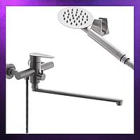 Душевая система Смеситель Кран для ванны с душем и лейкой из нержавеющей стали SUS304 ZERIX FOX-006
