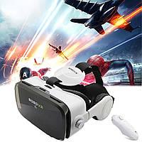 Шлем 3D очки виртуальной реальности с пультом для смартфона VR BOX Bobo Z4 PRO виар очки с наушниками NEW