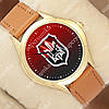 Классические наручные часы Украина Щит Gold/Brown 1053-0104