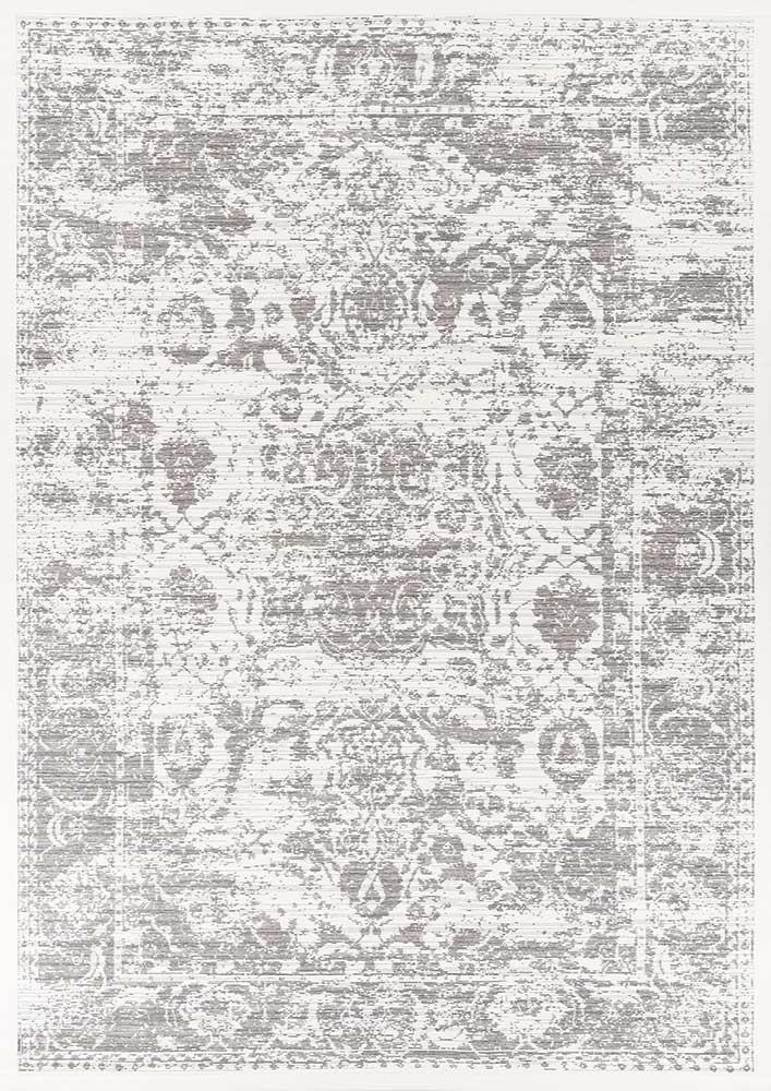 Ковер двухсторонний Narma Palms 80х250 см Белый