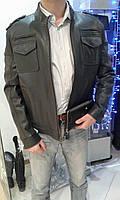 Куртка мужская из кожи