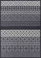Ковер двухсторонний Narma Tidriku 70х140 см Серый, фото 1