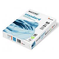 Бумага офисная 100 листов Maestro Standart A4 80г/м.кв.