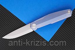 Ніж складаний S3 puukko flipp sky purp-9522 (Real Steel)+2 подарунка+безкоштовна доставка або знижка!