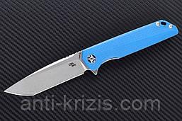 Нож складной CH 3507-G10-blue (CH Knives)+2 подарка+бесплатная доставка или скидка!