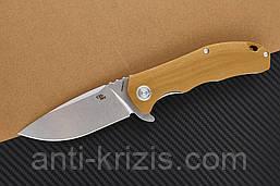 Нож складной CH 3504-G10-brown (CH Knives)+2 подарка+бесплатная доставка или скидка!