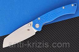 Нож складной CH Toucans-G10-blue (CH Knives)+2 подарка+бесплатная доставка или скидка!