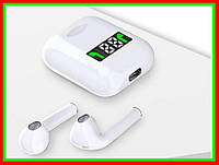 Беспроводные сенсорные наушники TWS i99 с кейсом подзарядки и встроенным экраном Zessl