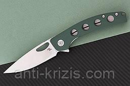 Нож складной CH 3530-G10-AG (CH Knives)+2 подарка+бесплатная доставка или скидка!