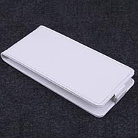Чехол флип для Acer Liquid Z500 DualSim белый