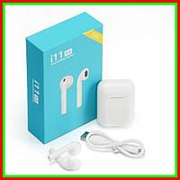 Беспроводные сенсорные наушники I11 TWS Sensor Bluetooth 5.0 White Zessl