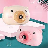 Детский фотоаппарат для мыльных пузырей BUBBLE CAMERA Zessl