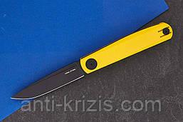 Ніж складаний G Slip Yellow-7843 (Real Steel)+2 подарунка+безкоштовна доставка або знижка!