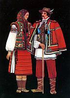 Набор открыток «Украинский народный костюм»