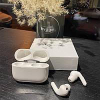 Наушники беспроводные блютуз в дизайне AirPods Pro, Macaron белый