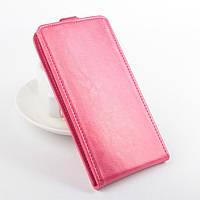 Чехол флип для Acer Liquid Z520 DualSim розовый