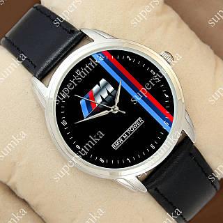 Молодежные наручные часы Украина BMW M Power c Silver/Black 1053-0111