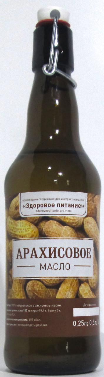 Арахисовое масло холодный отжим 500 мл