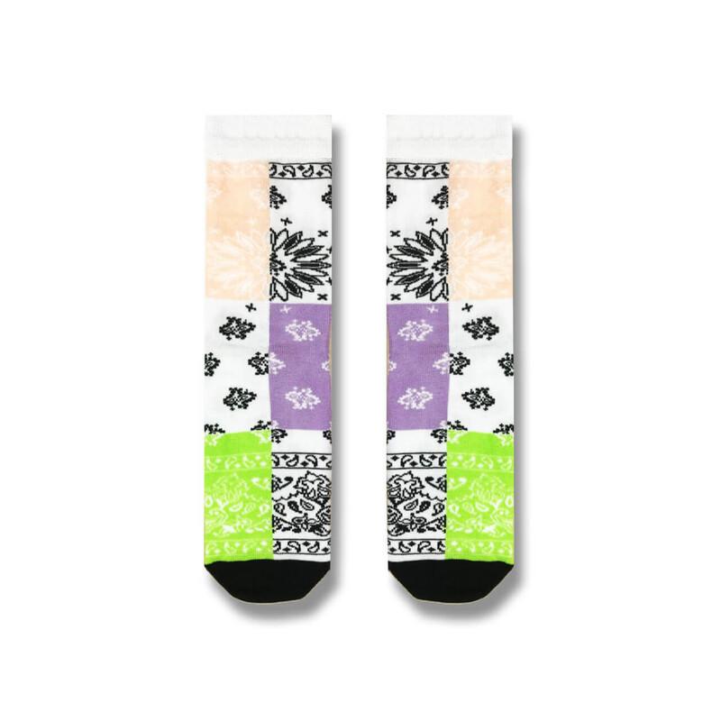 """Жіночі шкарпетки SOX """"Бандана"""" з квітковим орнаментом"""