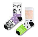 """Жіночі шкарпетки SOX """"Бандана"""" з квітковим орнаментом, фото 2"""