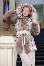 РИСЬ шуби та жилети Russian and Canadian lynx fur coats jackets vests and gilets
