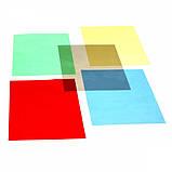 Обложки пластиковые А4 прозрачные Agent 180мк уп/100шт ассорти, 1510486, фото 3