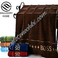 Лицевое полотенце махровое Boss (6)