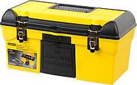 """Ящик 192055 Stanley 479 x 264 x 244 мм """"CONDOR"""" с металлическими замками и органайзером + флип для сверл"""