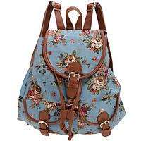 Женский рюкзак СС5929 Голубой