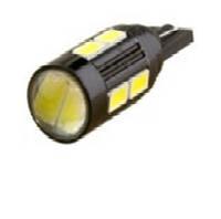 Светодиодная лампочка с линзой t10 w5w 8smd 7014