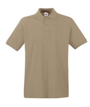 Мужская футболка поло хаки 218-3М
