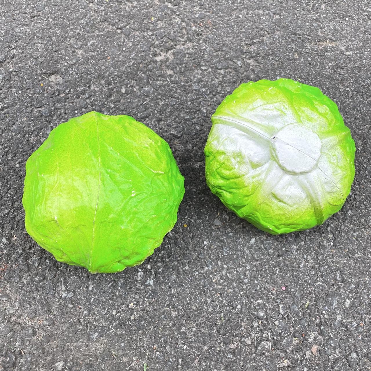 Штучна зелена капуста, муляж 12 см