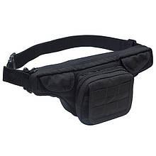 Поясна сумка для зброї DANAPER Defender (170х350х110мм), чорна