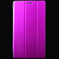Кожаный чехол-книжка для планшета Lenovo Tab 2 A7-30 TTX Elegant Series Малиновый